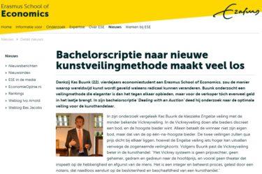 Publicatie Erasmus Universiteit